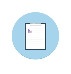 Prescription Pad vector image