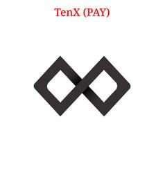Tenx pay logo vector