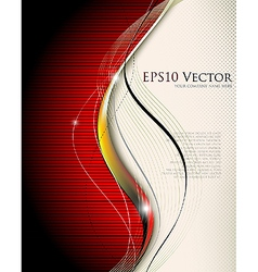 Abstract science and technology background vector image vector image