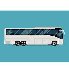 Coach bus icon vector