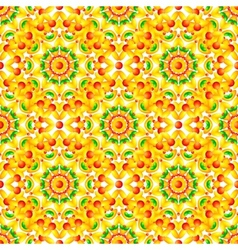 Ethnic African style circles seamless pattern vector image