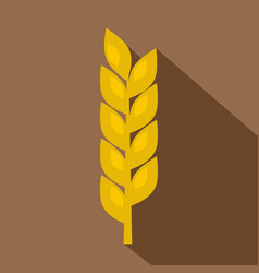 one spike icon flat style vector image vector image