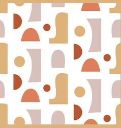 abstract geometric modern seamless pattern vector image