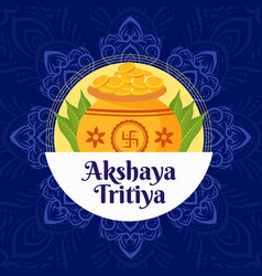 Banner design akshaya tritiya vector