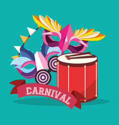 Carnival design concept vector