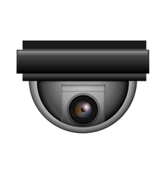 Cctv camera icon Security and Protection care vector