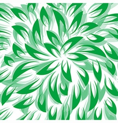 Green Leaf Abstract Background vector image