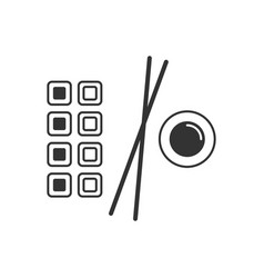 japanese food line icon vector image