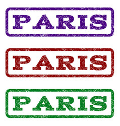 Paris watermark stamp vector