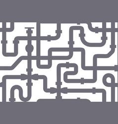 Seamless texture pipeline texture grey vector