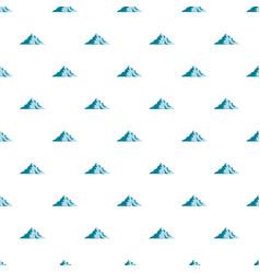 Snow mountain pattern seamless vector