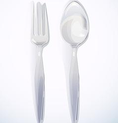 Spoon fork vector