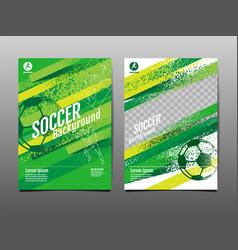template sport layout design grunge design brush vector image