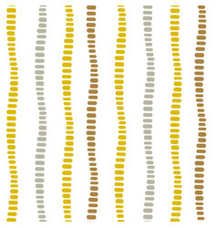 Vertical dotted decorative stripes seamless vector