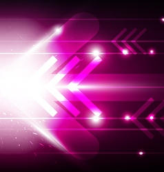 abstract movement arrow vector image vector image