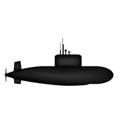 Military Submarine vector image