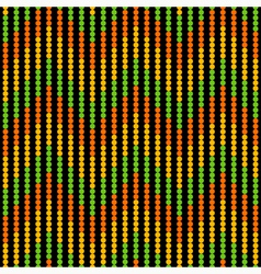 Seamless wave pattern on a black background vector image