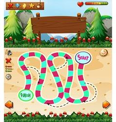 Boardgame vector image