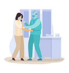 Coronavirus 2019-ncov epidemic china wuhan people vector