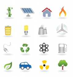 ecofriendly icon vector image
