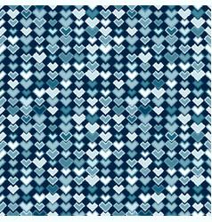 Ethnic blue tribal seamless pattern vector