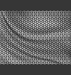 Ramadan kareem black and white oriental pattern vector