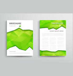 Set of brochure design template vector