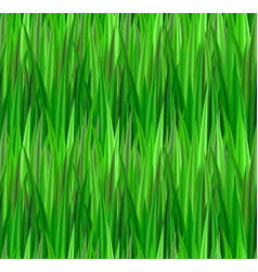 Seamless texture with green grass lawn vector