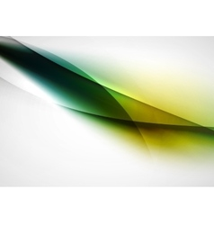 Abstract background blurred wave lines in the air vector image