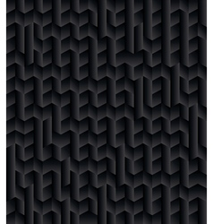 Black 3D Texture Abstract Background vector image
