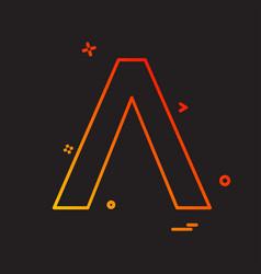 a icon design vector image