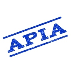 APIa Watermark Stamp vector