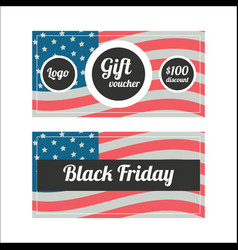 Black friday banners vector