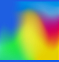 Colorful gradient mesh background vector
