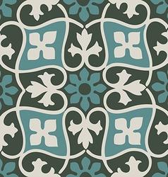 Colorful pastel seamless floral patterns vintage vector