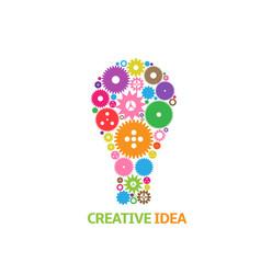 creative idea symbol vector image