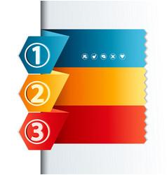 design template vector image
