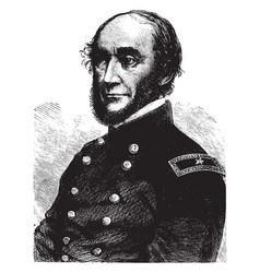 general george w cullum vintage vector image