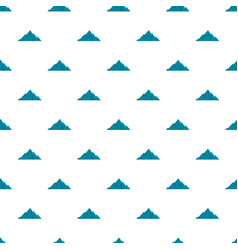 Pointing mountain pattern seamless vector