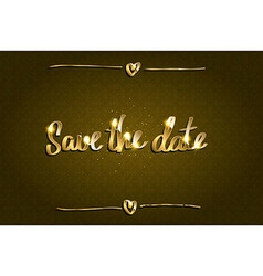 Save Our Date vector