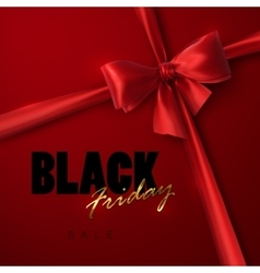 Black Friday sale banner design template vector image vector image