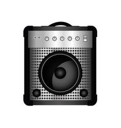 guitar amplifier icon vector image