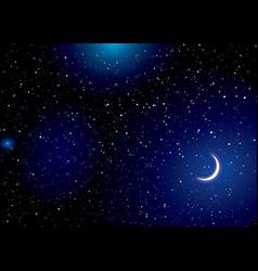 stella space landscape vector image vector image