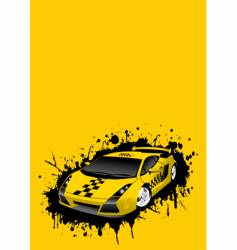 taxi stains vector image