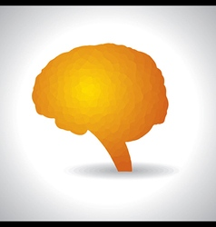 Abstract brain or mind symbol vector