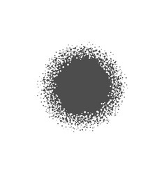 abstract dotted circle vector image
