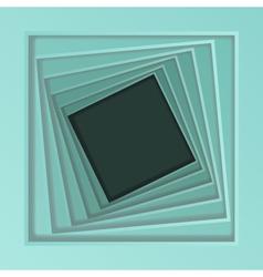 Abstract spiral frame vector