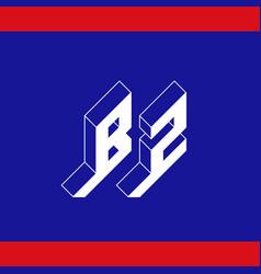 Bz - international 2-letter code or national vector