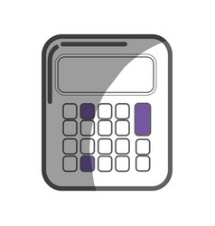 calculator tool to study and learn mathematica vector image