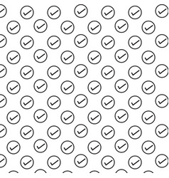 check mark icon background vector image